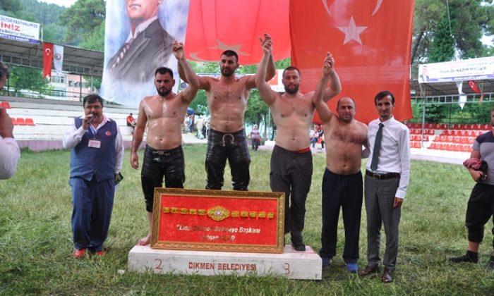 Geleneksel 54. Dikmen Yağlı Güreş Festivali Yapıldı