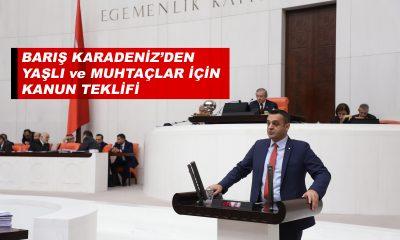 Barış Karadeniz'den Meclise Kanun Teklifi