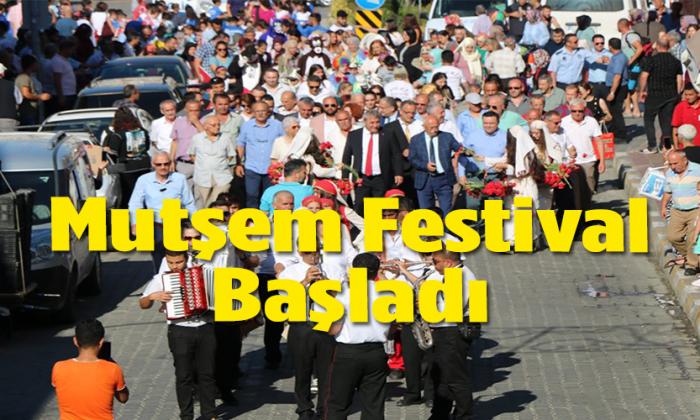MUHTEŞEM FESTİVAL BAŞLADI