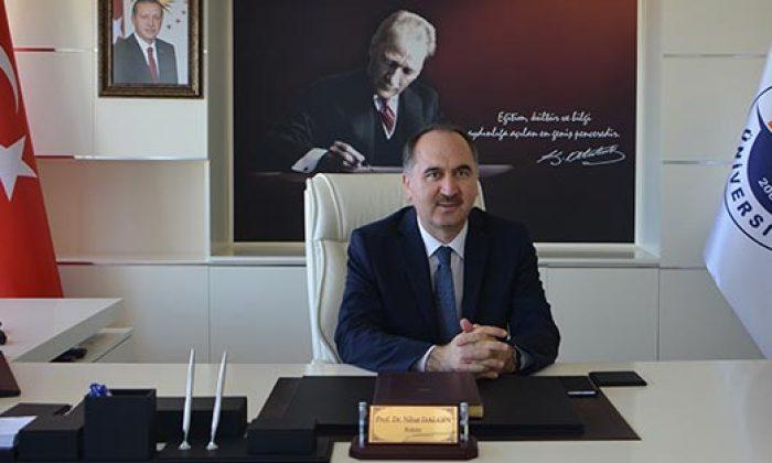Nihat Dalgın tekrar rektör seçildi