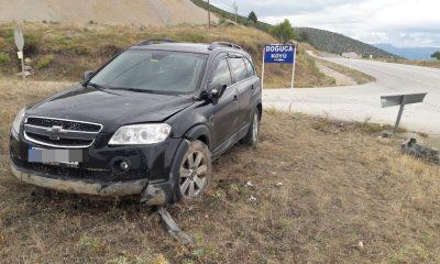 Boyabat Doğuca Köyü Girişinde Trafik Kazası :