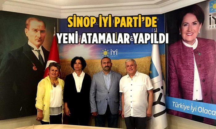 Sinop İYİ Parti'de yeni atamalar yapıldı