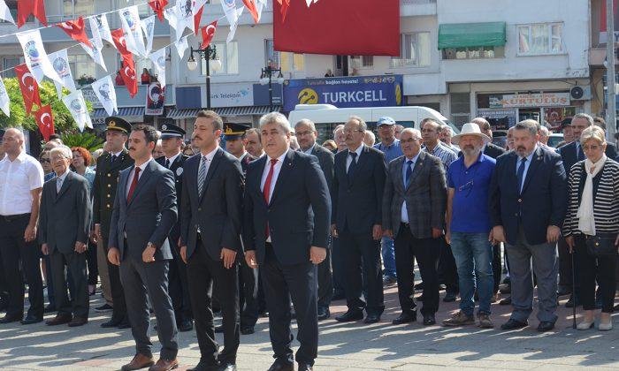 İLÇEMİZDE 30 AĞUSTOS ZAFER BAYRAMI KUTLANDI