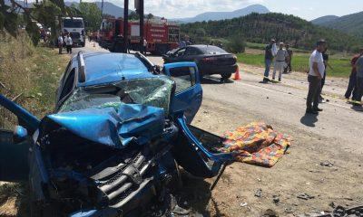 Durağan Yolunda Feci Kaza 1 Ölü 6 Yaralı