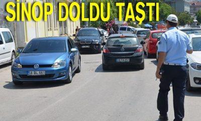 Sinop Doldu Taştı