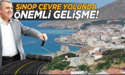 Sinop Çevre Yolu Projesinde ilk adım atıldı