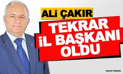 MHP Sinop İl Başkanı Ali Çakır Oldu