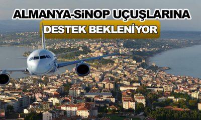 Almanya-Sinop Uçuşları İçin Destek Bekleniyor