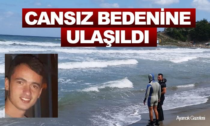 Denizde Kaybolan Gencin Cansız Bedenine Ulaşıldı