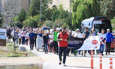 Sinop'ta Sağlık İçin Yürüdüler