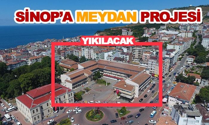 Sinop'a Şehir Meydanı Projesi