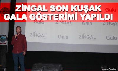 """""""Zingal Son Kuşak"""" Belgeseli Galası Gerçekleştirildi"""