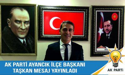 """Taşkan """"29 Ekim Cumhuriyet Bayramımız Kutlu Olsun"""""""