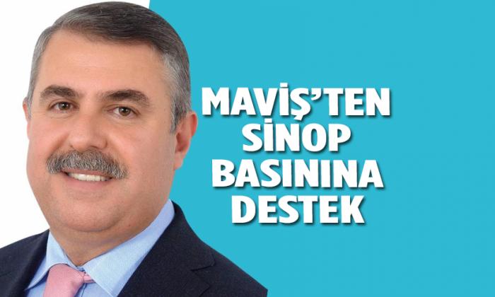 MAVİŞ'TEN SİNOP BASININA DESTEK