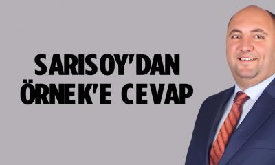 SARISOY'DAN ÖRNEK'E CEVAP