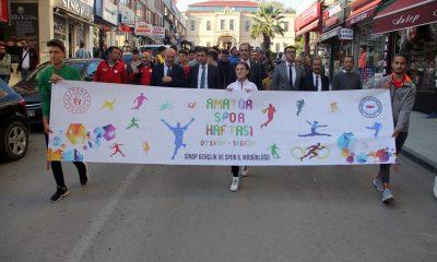 Amatör Spor Haftası Sinop'ta Başladı