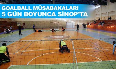 Sinop'ta Goalball Müsabakaları Başlıyor