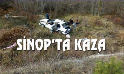 SİNOP'TA KAZA: 5 YARALI