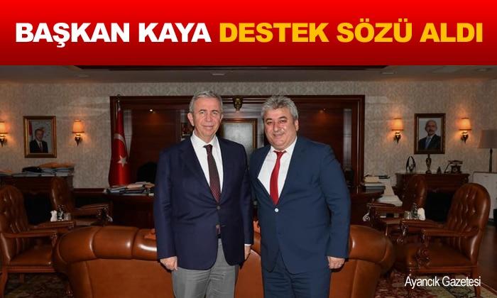 Başkan Kaya'dan Ankara Çıkarması