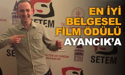 """Zingal Belgeseline """"En İyi Film"""" Ödülü"""