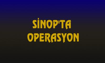 SİNOP'TA FUHUŞ OPERASYONU