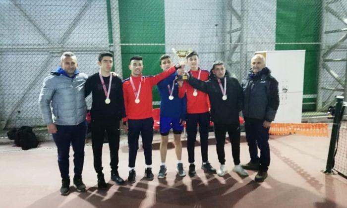 Tenis Gençler İl Birinciliği Müsabakaları Gerçekleştirildi