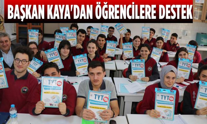 Başkan Kaya'dan Öğrencilere Destek