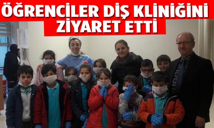 Öğrenciler Diş Kliniğini Ziyaret Etti
