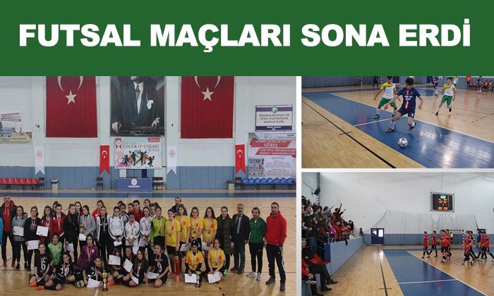 Okullar Arası Futsal Müsabakaları Sona Erdi
