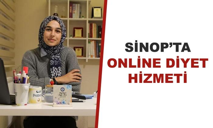 Sinop'ta Online Diyet Hizmeti