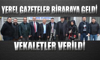 YEREL GAZETELER BİRARAYA GELDİ, HUKUKİ SÜREÇTE ANLAŞTI!