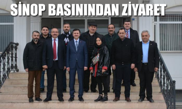 Sinop Basınından ziyaret