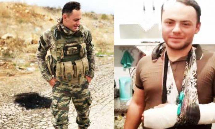 Yaralı Asker Boyabat'a getirildi