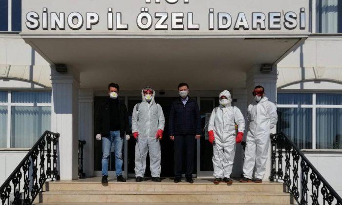 Sinop İl Özel İdaresi Covid-19 Salgınına Karşı Önlemlerini Artırdı