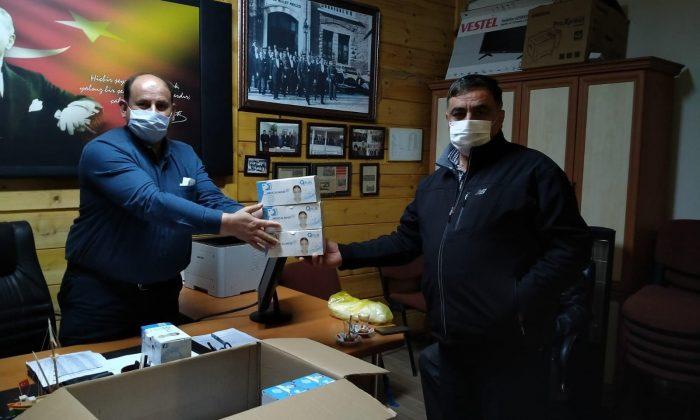 Sinop İl Özel İdaresi Köylere 5 Bin Adet Maske Gönderdi