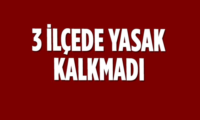 Sinop'ta ilçeler arası yasak 3 ilçe hariç kalktı