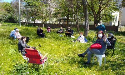 Altın Kızlar 65 Yaş İzninde Piknikte Buluştular