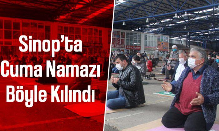 Yasağın Kalkmasının Ardından Sinop'ta İlk Cuma Namazı