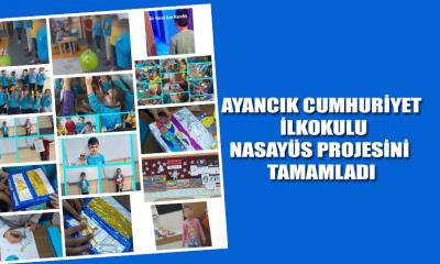 Ayancık Cumhuriyet İlkokulu Nasayüs Projesini Tamamladı