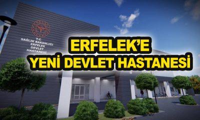 ERFELEK'E YENİ DEVLET HASTANESİ