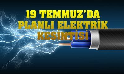 Ayancık'ta 19 Temmuz'da planlı elektrik kesintisi