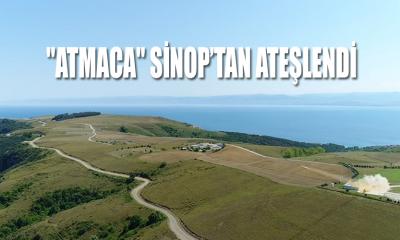 """Atmaca"" Sinop'tan Ateşlendi"