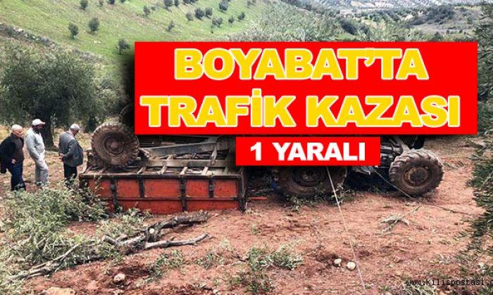 BOYABAT KABALI YOLUNDA TRAFİK KAZASI