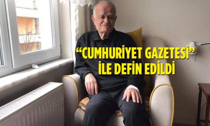 """""""CUMHURİYET GAZETESİ"""" İLE DEFİN EDİLDİ"""
