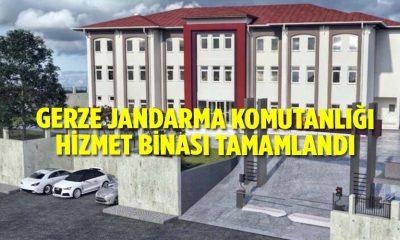 GERZE JANDARMA KOMUTANLIĞI HİZMET BİNASI TAMAMLANDI
