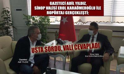 Gazeteci Adil Yıldız Sordu Sinop Valisi Cevapladı