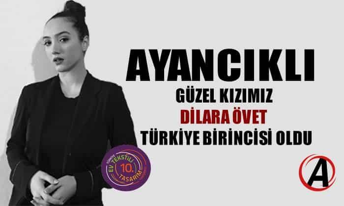 Ayancıklı Dilara Övet Türkiye birincisi oldu