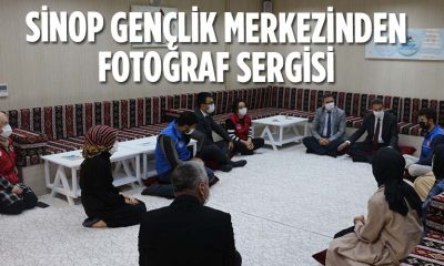 "SİNOP GENÇLİK MERKEZİNDEN ""SİNOP VE CUMHURİYET BAYRAMI"" TEMALI FOTOĞRAF SERGİSİ"