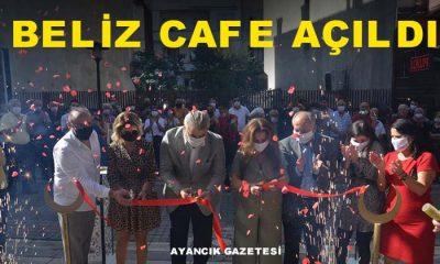 Ayancık'ta Beliz Cafe Açıldı