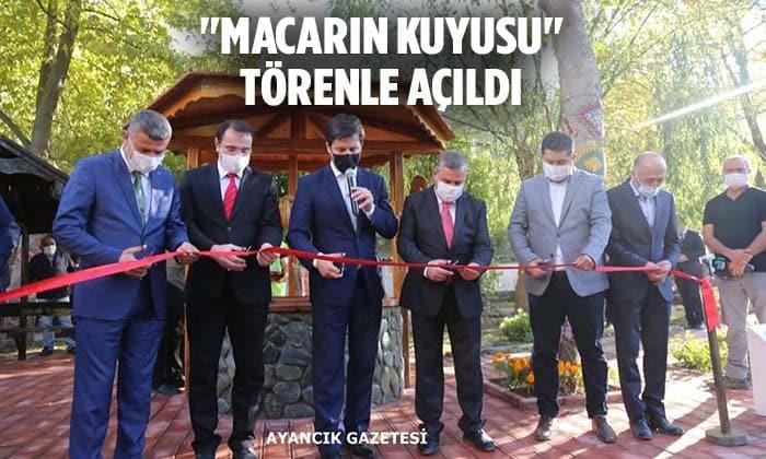 """""""MACARIN KUYUSU"""" MACARİSTAN MİLLİ GÜNÜNDE TÖRENLE AÇILDI"""